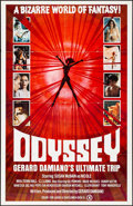 """Movie Posters:Adult, Odyssey: The Ultimate Trip (ASOM Distributing, 1977) Folded, Overall Grade: Very Fine-. One Sheets (3) (27"""" X 41""""). Adult.... (Total: 3 Items)"""