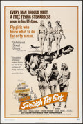 """Movie Posters:Sexploitation, Swedish Fly Girls & Others Lot (Trans American, 1972) Folded,Overall Grade: Very Fine-. One Sheets (4) (27"""" X 41""""). Sexploi...(Total: 4 Items)"""