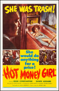 """Movie Posters:Crime, Hot Money Girl (United Producers, 1961) Very Fine- on Linen. One Sheet (27"""" X 41.75""""). Crime...."""
