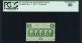Fractional Currency:First Issue, Fr. 1312 50¢ First Issue PCGS Extremely Fine 40.. ...