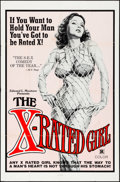 """Movie Posters:Sexploitation, The X-Rated Girl & Others Lot (Film Ventures International, 1979) Folded, Very Fine-. One Sheets (3) (27"""" X 41""""). Sexploitat... (Total: 3 Items)"""