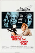 "Movie Posters:Science Fiction, The Omega Man (Warner Brothers, 1971) Folded, Very Fine. One Sheet (27"" X 41""). Science Fiction...."