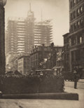Photographs:Photogravure, Alfred Stieglitz (American, 1864-1946). Old and New New York, 1910. Photogravure. 8 x 6-1/4 inches (20.3 x 15.9 cm). ...