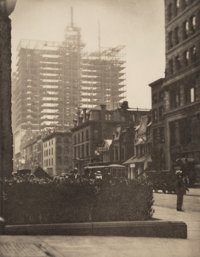 Alfred Stieglitz (American, 1864-1946) Old and New New York, 1910 Photogravure 8 x 6-1/4 inches (