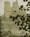 Photographs:Photogravure, Alvin Langdon Coburn (British, 1882-1966). Portrait of Auguste Rodin and Notre Dame (two works), 1906 (each). Photog... (Total: 2 Items)