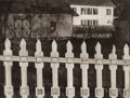 Photographs:Photogravure, Paul Strand (American, 1890-1976). White Fence, Port Kent, New York, 1916. Photogravure, 1991. 9-5/8 x 12-3/4 inches (24...