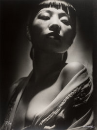 George Hurrell (American, 1904-1992) Anna May Wong, 1938 Gelatin silver, 1979 48 x 36 inches (121
