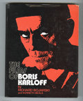 Books:First Editions, The Films of Boris Karloff by Richard Bojarski and Kenneth Beals(The Citadel Press, 1974) Condition: VG. First edition. Har...