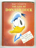 "Books, Walt Disney's The Life of Donald Duck (Random House, 1941). ""Thisis my only Authorized Biography (signed) d. duck"", or at l..."