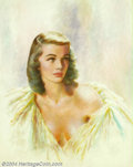 Original Illustration Art:Pin-up and Glamour Art, Edwin A. Georgi (1896-1964) Original Illustration (1950-1960)..Possibly published as an advertisement or the cover of a nat...