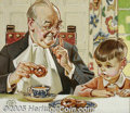 Original Illustration Art:Mainstream Illustration, Joseph Christian Leyendecker (1874-1951) Original AdvertisingPreliminary (c.1940).... (3 items)