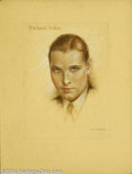 Original Illustration Art:Mainstream Illustration, Charles Gates Sheldon (1889-1960) Original Illustration (c.1927)..Richard Arlen, probably full-page interior illustration f...