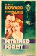 "Movie Posters:Crime, The Petrified Forest (Warner Brothers, 1936). Fine+. Trimmed Midget Window Card (8"" X 12.25"").. ..."