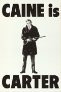 Movie Posters:Crime, Get Carter (MGM, 1971). Folded, Very Fine-. Britis...