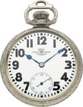 Timepieces:Pocket (post 1900), Ball Rare 21 Jewel Waltham Official Standard Prototype, No Serial Number. ...
