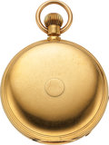 Timepieces:Other , United States Watch Co. 18k gold 18 Size Case Only, 83.6 Grams. ...