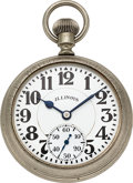 Timepieces:Pocket (post 1900), Ball, Illinois 23 Jewel Official Standard Prototype, No Serial Number. ...