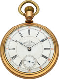 "Timepieces:Pocket (pre 1900) , Ball, Seth Thomas, Exceedingly Rare ""Railway Queen"", No. 95515. ..."