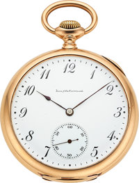 Ball & Co. Rare 14k Gold Prototype 16 Size Hamilton From The Ball Store, Completely Unsigned, No Serial Number