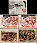 """Movie Posters:Sports, The Racing Strain & Others Lot (Maxim Productions, 1932) Overall: Very Fine-. Lobby Cards (5) (11"""" X 14""""). Sports.... (Total: 5 Items)"""