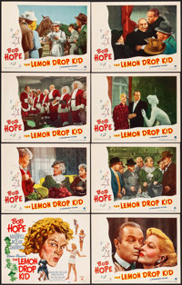 """The Lemon Drop Kid (Paramount, 1951) Very Fine. Lobby Card Set of 8 (11"""" X 14""""). Comedy.... (Total: 8 Items)"""