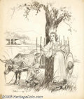 Original Illustration Art:Mainstream Illustration, Raeburn Van Buren (1891-1987) Original Illustration (1924)....