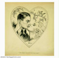 Original Illustration Art:Mainstream Illustration, Raeburn Van Buren (1891-1987) Original Illustration (c.1934)..Published as a newspaper supplement cover for Valentine's Day...(Total: 2 items Item)