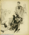 Original Illustration Art:Mainstream Illustration, Raeburn Van Buren (1891-1987) Original Illustration (c.1935)....