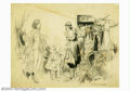 Original Illustration Art:Mainstream Illustration, Raeburn Van Buren (1891-1987) Original Illustration (1933)....
