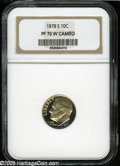 Proof Roosevelt Dimes: , 1979-S 10C Type Two PR70 W Cameo NGC....