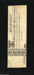 Colonial Notes:Maryland, Maryland 1733 Unissued 15s Choice Crisp Uncirculated....