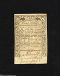 Colonial Notes:Rhode Island, Rhode Island May 1786 20s About Uncirculated....
