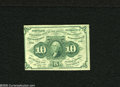 Fractional Currency:First Issue, Fr. 1242 10c First Issue Choice Extremely Fine....
