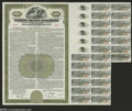 Stocks and Bonds:Railroad Certificates, Lehigh Valley Railroad $1000 Bond About Uncirculated, roulette cancelled...