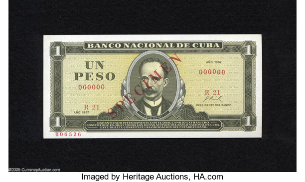 World Currency Cuba