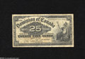 Canadian Currency: , DC-15a 25¢ 1900 VG...