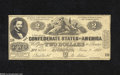 Confederate Notes:1862 Issues, CT42/334 $2 1862....