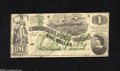 Confederate Notes:1862 Issues, T45 $1 1862....