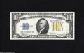 Small Size:World War II Emergency Notes, Fr. 2309 $10 1934A North Africa Silver Certificate. Choice About Uncirculated....