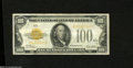 Small Size:Gold Certificates, Fr. 2405 $100 1928 Gold Certificate. Very Fine....