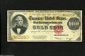 Large Size:Gold Certificates, Fr. 1215 $100 1922 Gold Certificate Very Good-Fine....