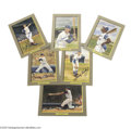 Autographs:Others, 1985-95 Perez-Steele Great Moments Set with 37 Autographs....