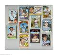 Autographs:Others, 1963-74 Topps Baseball Signed Lot of 37....