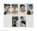 Autographs:Sports Cards, 1964 Topps Baseball Giant Lot of 60+ with 17 Autographed....