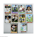 Autographs:Sports Cards, 1976-79 Topps Baseball Signed Lot of 45....