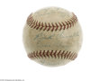 Autographs:Baseballs, Late 1940's Washington Senators Signed Baseball....