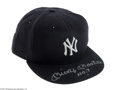 Autographs:Others, Mickey Mantle Signed UDA Yankees Cap....