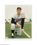 Autographs:Photos, Harmon Killebrew Signed Photograph Lot of 2....