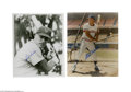 Autographs:Photos, Hall of Famers Signed Photograph Lot of 4....
