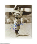 Autographs:Photos, Classic Baseball Stars Signed Photograph Lot of 33....